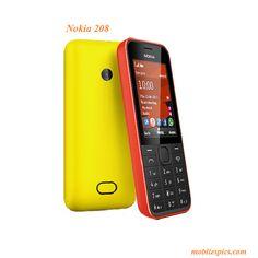 Nokia 208 Model Mobile Phone - Mobiles Phones