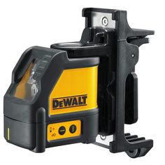 DeWALT Self Levelling Cross Line Laser. Self-levelling cross line laser is accurate to ± in levelling applications. Laser class: Self-levelling up to surface angle with automatic out of level indication, marks a level line in seconds. Cordless Power Tools, Wall Mount Bracket, Air Tools, Kit, Level Up, Laser, Leica, Retail Packaging, Outdoor Power Equipment