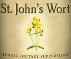 ST. JOHN'S WORT Single Herb Liquid Extract Tincture for Healthy Nerves & Mood Support
