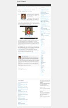 Dr. William Knudson Blogger Venue