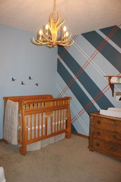 Preppy Nursery from Project Nursery
