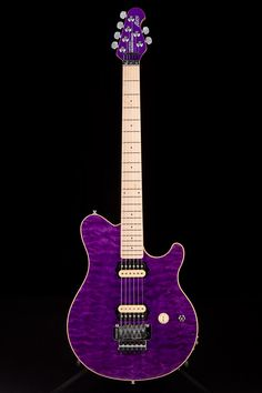 Music Man Axis Tribute Trans Purple:  Just because its purple!! We love purple.
