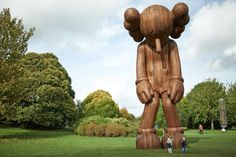 KAWS Like Never Before at Yorkshire Sculpture Park