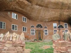 Dennis Weaver's Earthship House | The only homes that I am aware of, at least here in the states, that ...