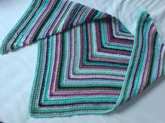 "free crochet pattern: ""it's just a triangle"" shawl"