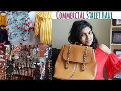 Commercial Street Bangalore Shopping Haul - Commercial Street Tour is in today's video. Commercial street in Bangalore is a famous shopping area. I did pick up cold shoulder top and cute backpacks. Hope you enjoy watching this commercial street haul video.