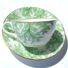 Vintage Copeland Spode Porcelain Seaweed by HStewartHTableTop,` - Lovely:):