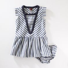 Maritime Stripe Dress
