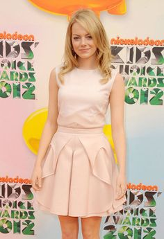 Emma Stone at the Kid's Choice Awards 2012
