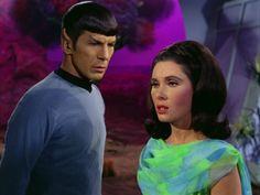 """Star Trek 2 x 9 """"Metamorphosis """" Elinor Donahue as Ambassador Nancy Herford"""