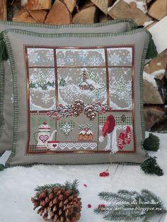 Cross Stitch Cushion, Cross Stitch Tree, Cross Stitch Needles, Cross Stitch Samplers, Cross Stitch Kits, Cross Stitch Patterns, Quilt Stitching, Cross Stitching, Cross Stitch Embroidery