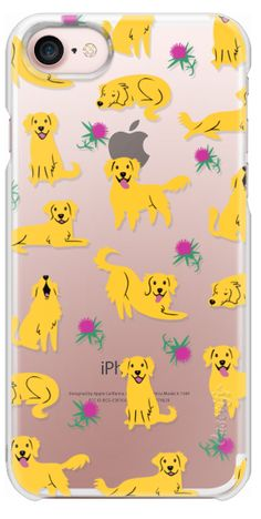 Casetify iPhone 7 Snap Case - Golden Retrievers by Lili Chin