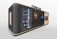mormedi develops innovative self-serve gourmet vending machine Mall Design, Pop Design, Store Design, Vending Machines In Japan, Coffee Vending Machines, Vending Machine Business, Coffe Machine, Automotive Decor, Automotive Furniture