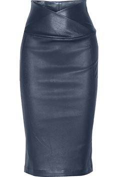 Zero+MariaCornejo | Nebi leather pencil skirt | NET-A-PORTER.COM