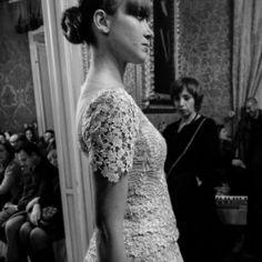 """Uno degli abiti della collezione """"..dalla Terra"""" del fashion designer catanese Marco Strano.  Altre foto sul blog: http://www.coolfashionstyle.it/2014/02/collezione-sposa-dalla-terra-marco-strano.html"""