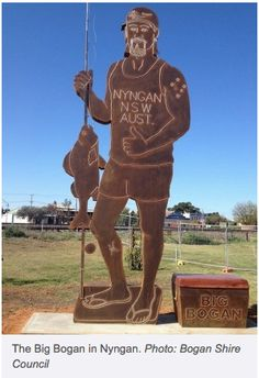 The Big Bogan at Nyngan NSW