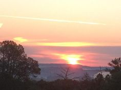 Sunrise on Easter morning from atop Panola Mountain