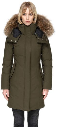 Kerry Winter Down Coat With Fur Donne In Abiti Da Lavoro d21e1e76369