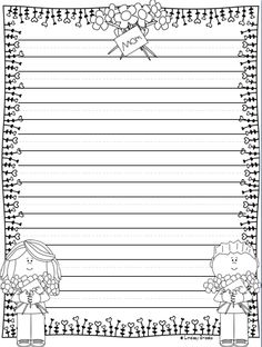All the writing paper styles you need for holiday and seasonal writing through March, April, and May! 40 printable pages. Printable Lined Paper, Free Printable Stationery, Printable Quotes, English Creative Writing, Hand Lettering Alphabet, Borders For Paper, Writer Workshop, Note Paper, Kids Prints