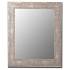 Aosta Silver Mirror - Wall Mirrors at Hayneedle