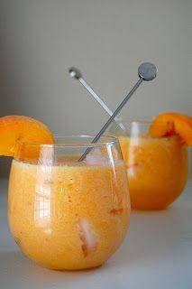 The Peach Flip - Frozen Peaches, Lemonade, & Sprite. Perfect For The Summer!