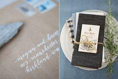 peaceful-seaside-wedding-inspiration-paper-goods-brown-blue-natural