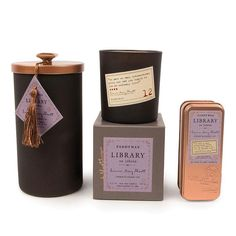 This is the candle for all of the bibliophiles out there. Each Paddywax Library candle is inspired by a famous author and is filled with a luxurious Paddywax fragrance. These soy wax blend candles by Paddywax Candles are hand-poured in Nashville, TN. Diy Gifts, Unique Gifts, Best Gifts, Jane Austen, Paddywax Candles, Clove Bud, Gifts For Readers, Dinner With Friends, Book Lovers Gifts