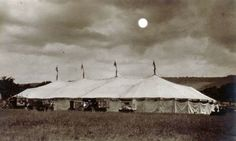 "Post Card #4/ ""The big top in moonlight"""