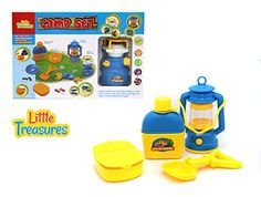 Camp play Set- award winner pretend play toy set for 3+ kids, includes water bottle, lantern with light, camp shovel, first aid kit Little Treasures http://www.amazon.com/dp/B01B6IB87S/ref=cm_sw_r_pi_dp_4GT7wb03EMC2C