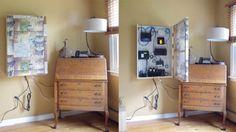 Discreetly Organize Your Home Network Gear Inside a Custom Art Frame