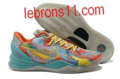 Kobe Bryant 8 Tropical Twist Shoes