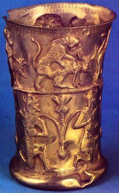 Persian  metalwork from -Gilan,gold 2000-1000 BC