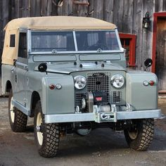 Chevy Pickup Trucks, Lifted Chevy, Land Rover Defender, Defender 90, Series 2 Land Rover, Green Jeep, Vintage Jeep, Old Jeep, Jeeps