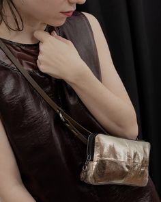 Clutch, Crossbody Bag, Spring, Bags, Fashion, Baby Steps, Riveting, Sachets, Leather