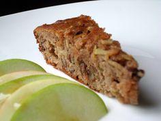 Almond flour apple cake