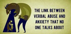 Long-term mental abuse is closely related to developing anxiety. All of the trauma and stress that accumulate over time eventually result in developing a mental disorder, out of which anxiety is the most common. Emotional Disorders, Mental Disorders, Anxiety Disorder, Emotional Abuse, Emotional Healing, Panic Attack Treatment, Anxiety Treatment, Verbal Abuse Quotes, Verbal Bullying