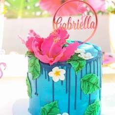 Faranaaz B's Birthday / Flamingos - Flamboyant Flamingo for Gabriella's at Catch My Party Dolphin Birthday Cakes, Birthday Cakes For Teens, Flamingo Birthday, Luau Birthday, Carnival Birthday Parties, Themed Birthday Cakes, Sweet 16 Birthday, Girl Birthday, Birthday Ideas