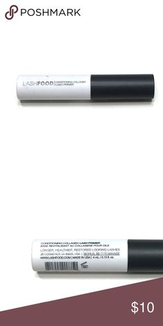 Lash Food Lash Primer Brand New || Deluxe Size .13 oz || Lash Food Lash Primer  A three-in-one lash primer that stretches and sculpts the look of lashes, boosts volume, and nourishes, maximizing the effect of any LashFood mascara. Lash Food Makeup