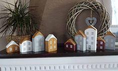 Drevené dekoračné domčeky Handmade Dolls, Charm Jewelry, Jasmine, Charms, Decorations, Dekoration, Ornaments, Decor, Decoration