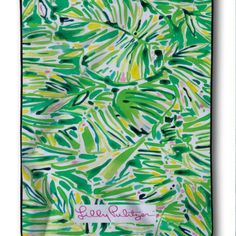 New Design Lilly Pulitzer Floral Tropis Palm Custom Blanket