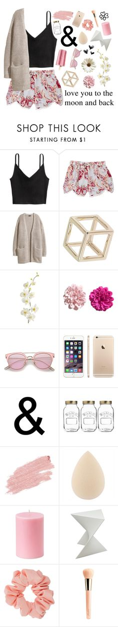 """- ̗̀ FIGHTING AGAINST ALL ODDS  ̖́-"" by deeda-ferreira ❤ liked on Polyvore featuring H&M, Skylar Luna, Topshop, Pier 1 Imports, Kilner, Jane Iredale, Somette, Miss Selfridge, Guerlain and love"