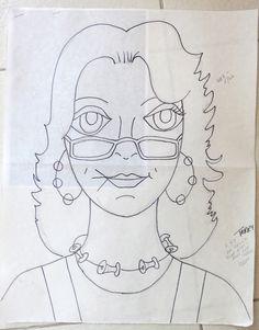 Más tamaños | Lady #49 - the drawing - Terry | Flickr: ¡Intercambio de fotos!