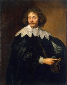 https://flic.kr/p/fuFhdv | Portrait of Sir Thomas Chaloner | 1638-1640. Oil on canvas. 140 x 81,5 cm. The State Hermitage Museum, Saint Petersburg.