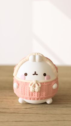 Cute Polymer Clay, Cute Clay, Kawaii Wallpaper, Wallpaper Iphone Cute, Cutest Bunny Ever, Movie Night For Kids, Momiji Doll, Unicorn Pictures, Molang