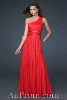 With Jacket. Chiffon One Shoulder Natural Pleated Beaded Purple Long Formal Dresses
