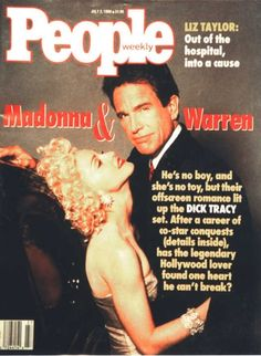 Madonna on the Cover of People Magazine #DickTracy #MadonnaCovers