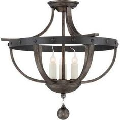 Savoy House 6-9540-3-196 Alsace 3-light semi-flush over sink? Over peninsula? $199 and up