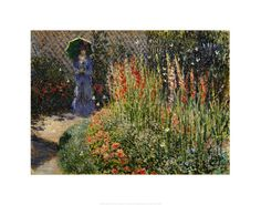 Claude Monet - Gladioli - Art Prints and Posters