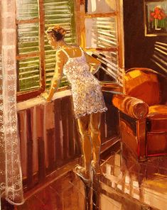 """Really, really love this!  Great color...  ~~ """"Morning"""", by Andre Deymonaz"""
