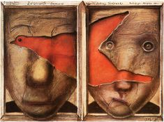 "Tarkovsky in Poland. Polish film poster from ""Mirror."""